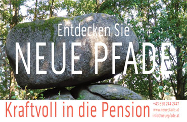 Kraftvoll in die Pension